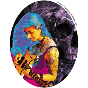 guitarBeauty by GuitarLoversCustomTees png