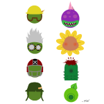 Simply PvZGW Characters