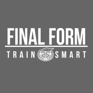 final form logo train smart white png