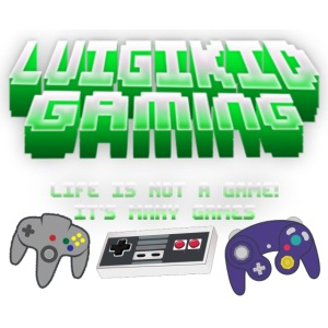 Luigikid gaming life is not a game controllerlogo.