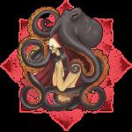 Cthulhu Beckons Lotus Red