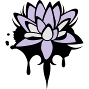 Lotus flower graffiti Apron | Spreadshirt | ID: 101539884