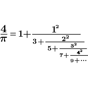 pi continued fraction