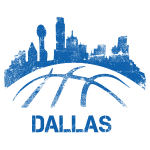 Dallas Basketball Skyline