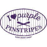 Purple Pinstripes - Dark