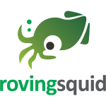 Roving Squid Green Logo