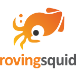 Roving Squid Orange Logo