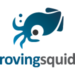 Roving Squid Blue Logo