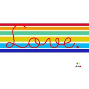 Love school rainbow png