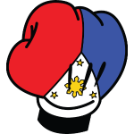 MP Filipino Flag Boxing Glove by AiReal Apparel