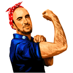 Maddox the Riveter Art