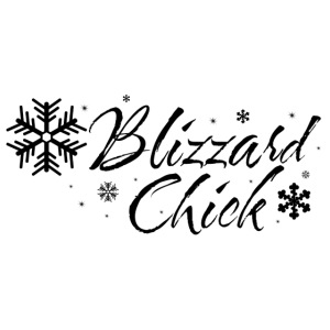 Blizzard Chick black logo