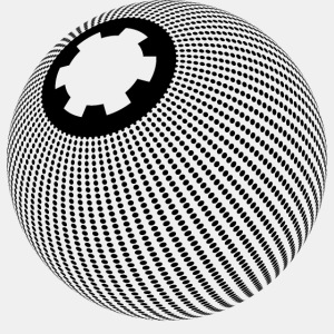 dotted sphere organic