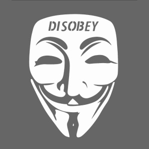 Anonymous Face Disobey Forehead gif