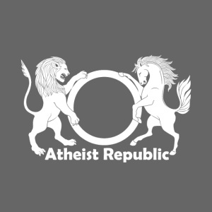 Atheist Republic Logo White