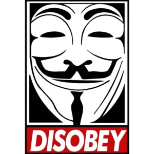 Anonymous Disobey Grin