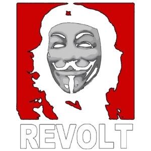 Anonymous Che Revolt Mugs & Drinkware