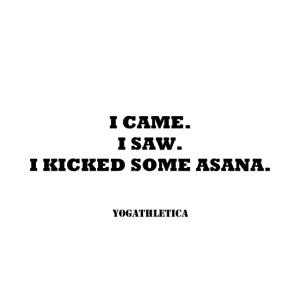 yoga kick asana