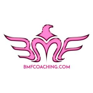 Metal Logo transparent BMFCoaching 300dpi Pink png