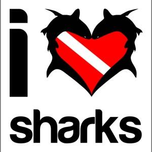 bag i love sharks