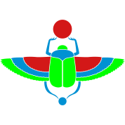 Egyptian Scarab - vector