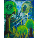Friends in the Forest Painting by Jason Gallant