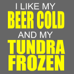 beer cold, tundra frozen