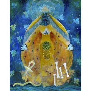 Cosmic Shakti Goddess, Largest Size