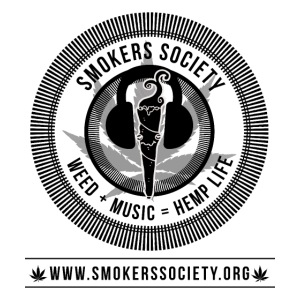 Smokers Society Logo black print png
