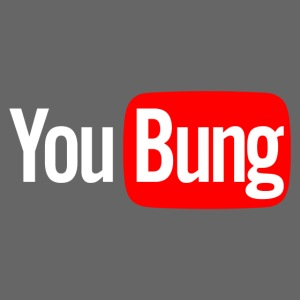 You Bung Logo White png