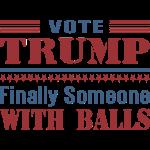 Donald Trump Finally Balls