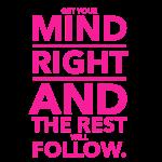 Fitness motivational logo