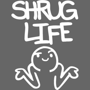 Shruglife white png