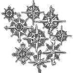 Neo-Henna Snowflakes