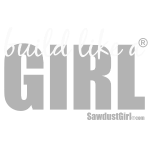 build like a girl - white