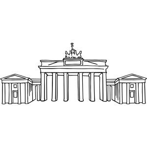Newyearseve at Brandenburg Gate Berlin