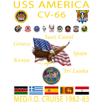 AMERICA 82-83