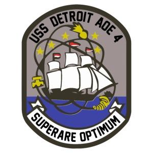 USS DETROIT COA