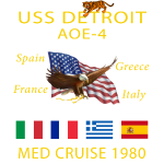 DETOIT Cruise Shirt 1980