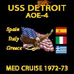 DETOIT Cruise Shirt 1972