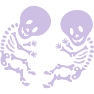 Design ~ Maternity Skeleton Twins