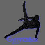 Gymnast's Silhouette