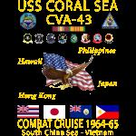 CORAL SEA 64-65
