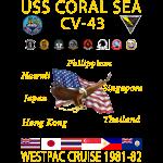 CORAL SEA 81-82