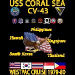 CORAL SEA 79-80