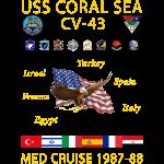 CORAL SEA 87-88