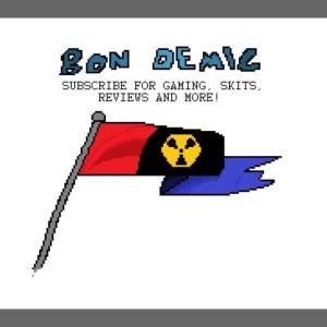 bon demic flag for button bigger jpg