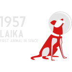 Laika, 1957: first animal in space