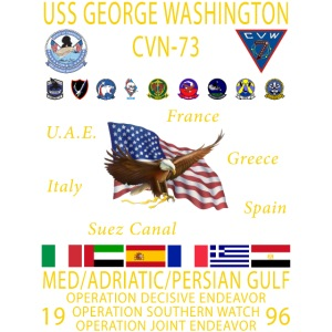 G WASHINGTON 96
