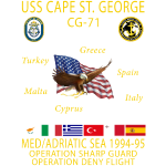 CAPE ST GEORGE 94-95